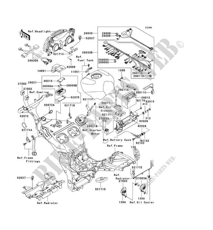 1999 kawasaki ninja zx 9r electrical diagrams