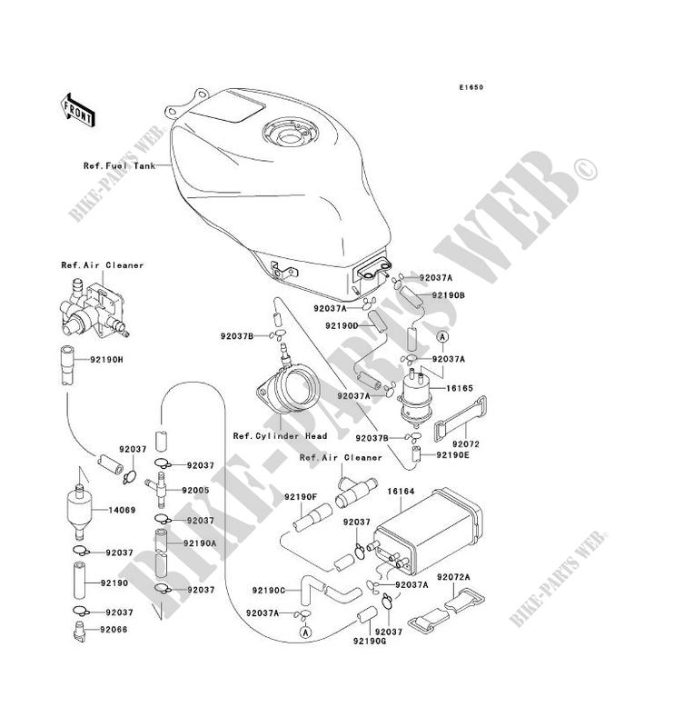 Auto Parts and Vehicles Fuel Pump Kawasaki ZX-6R 600 F3