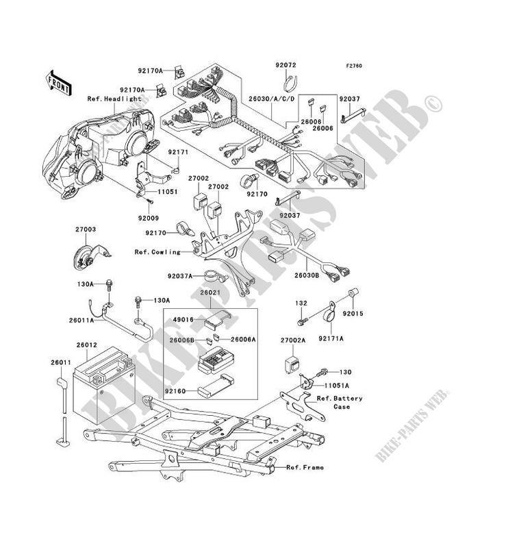 Wiring Diagram Zx600