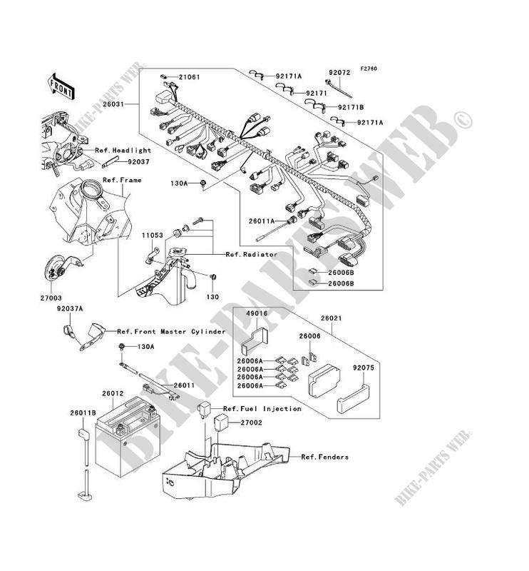 Wiring Diagram PDF: 2003 Kawasaki 636 Fuse Box