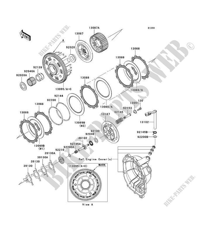 Zx6R Engine Diagram : 2007 Kawasaki Ninja Zx6r Wiring