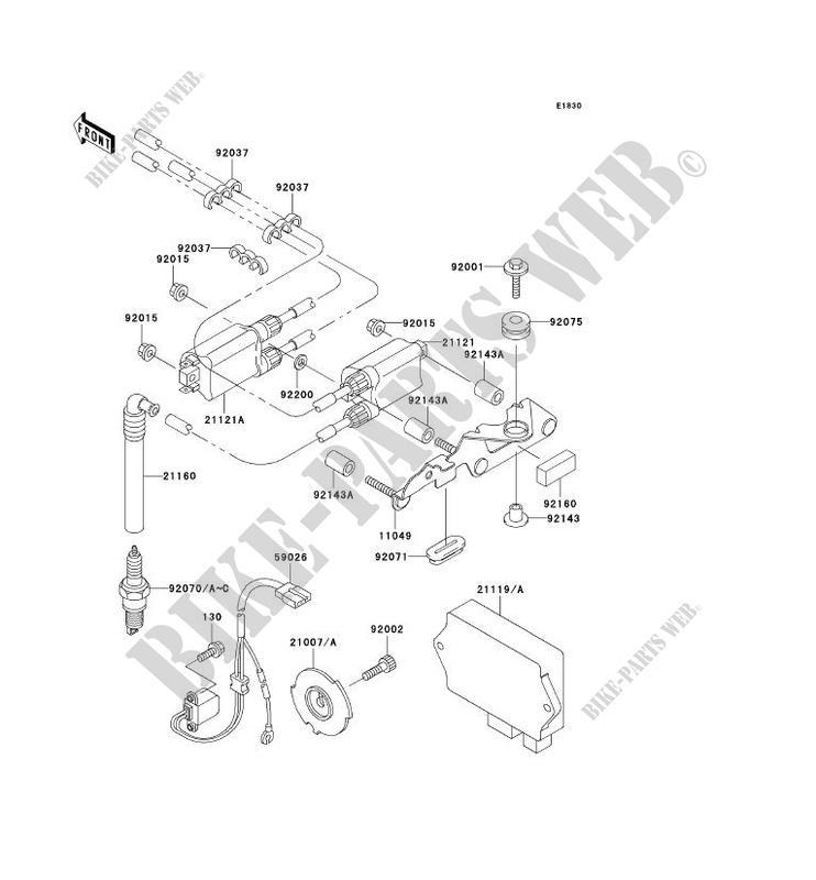 klr 250 wiring diagram schematic