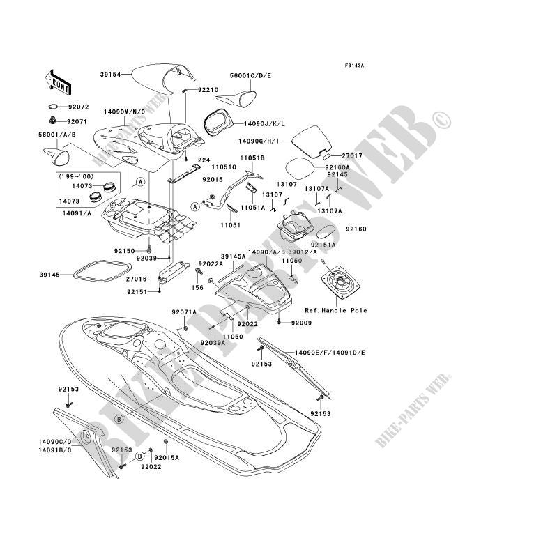 Kawasaki Ultra 150 Parts Diagram. Kawasaki. Wiring