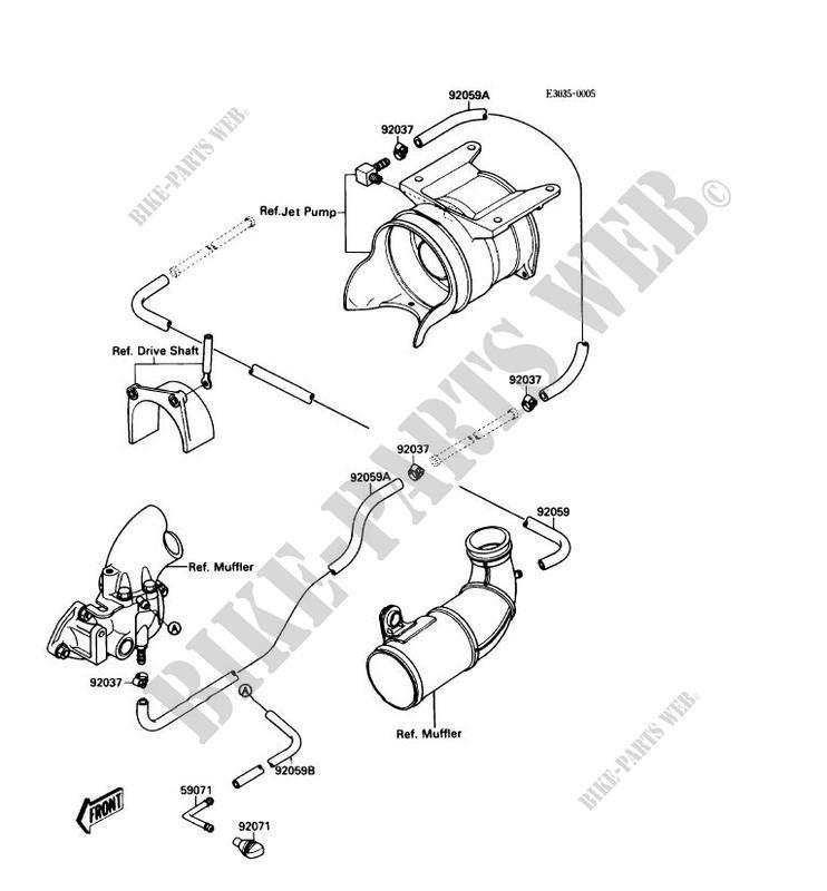 1988 650 Kawasaki Jet Ski Parts Diagram. Kawasaki. Wiring