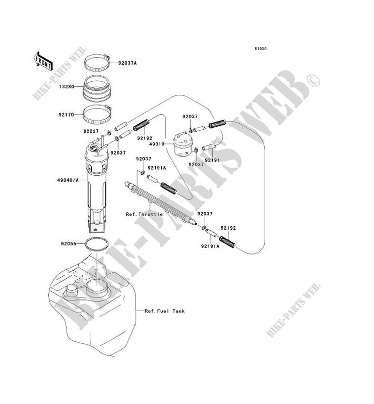 Bicycle Pump Parts Diagram