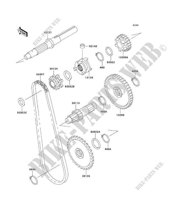Sketch Diagram Kawasaki Mule. Kawasaki. Wiring Diagrams