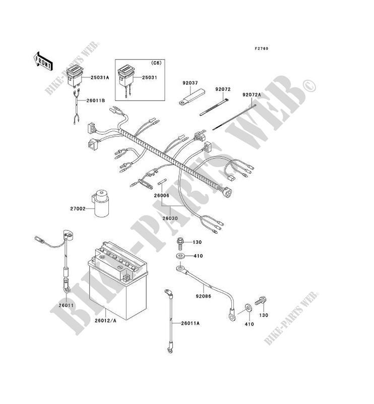 kawasaki mule kaf300 wiring diagram