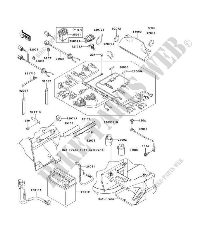 Kawasaki Mule 610 Wiring Diagram : Kawasaki Mule 4010