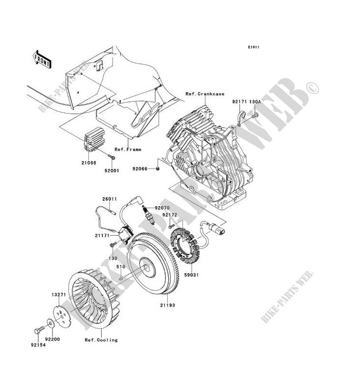 Kawasaki Mule 610 Parts Diagram Fuel Regulator. Kawasaki