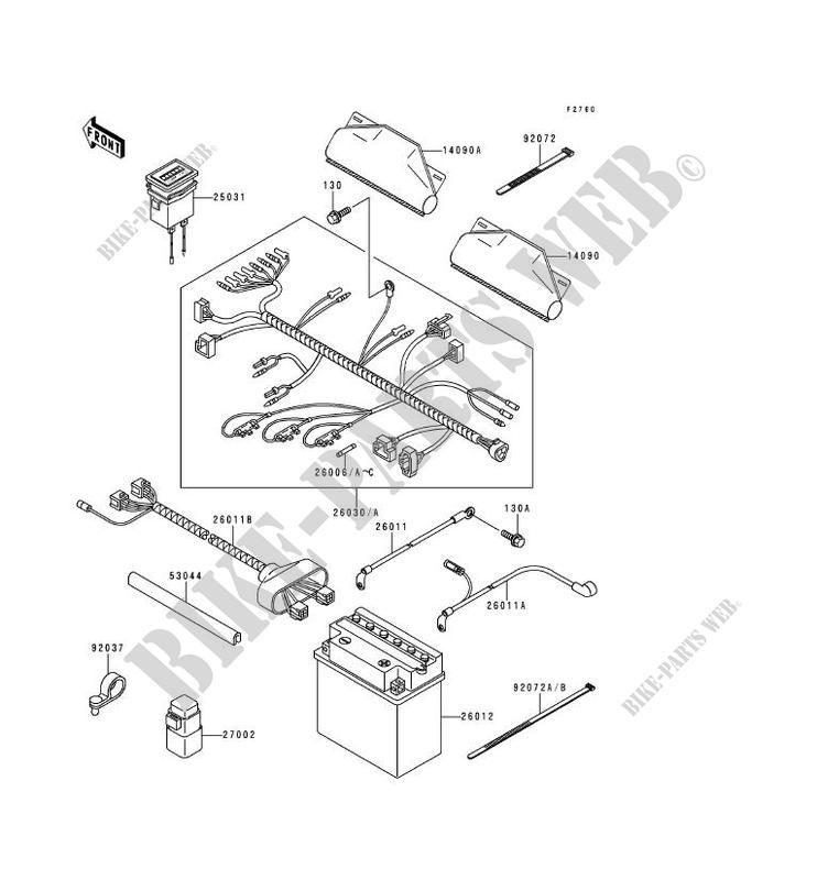 Kawasaki Four Wheeler Wiring Diagram. Kawasaki. Wiring