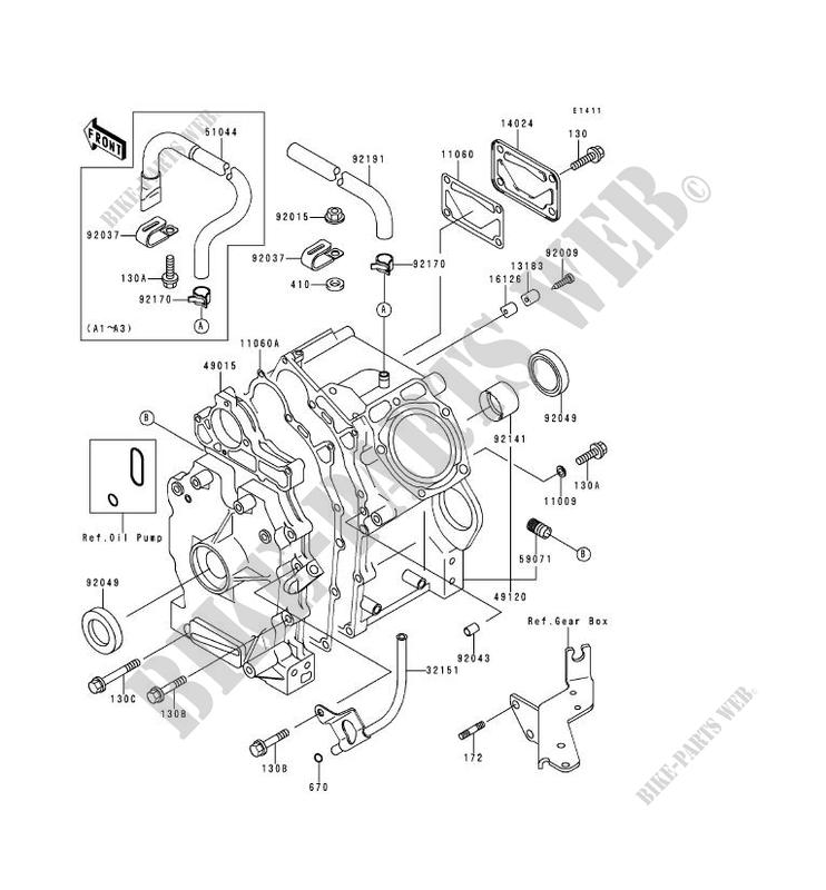 Sketch Diagram Kawasaki Mule. Kawasaki. Wiring Diagrams