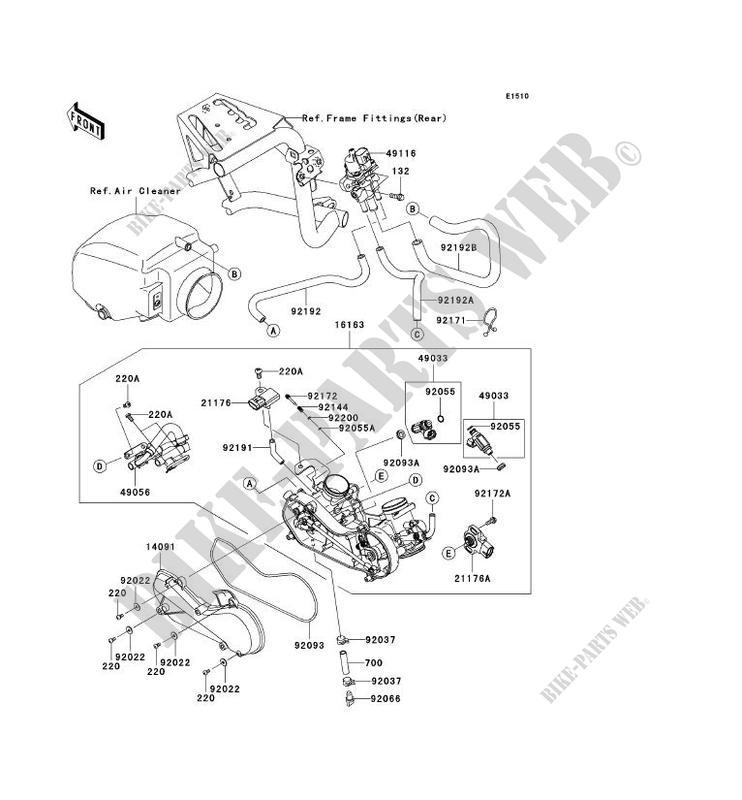 Kawasaki Teryx Carb Diagram. Kawasaki. Wiring Diagrams