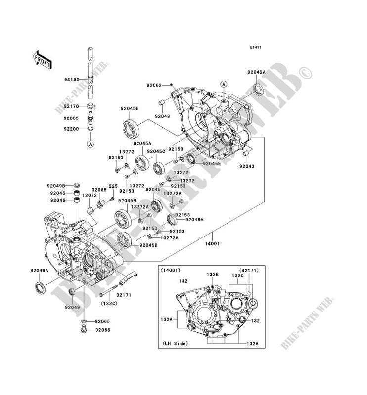 Other Motorcycle Engines & Parts SEAL-OIL Kawasaki 92049