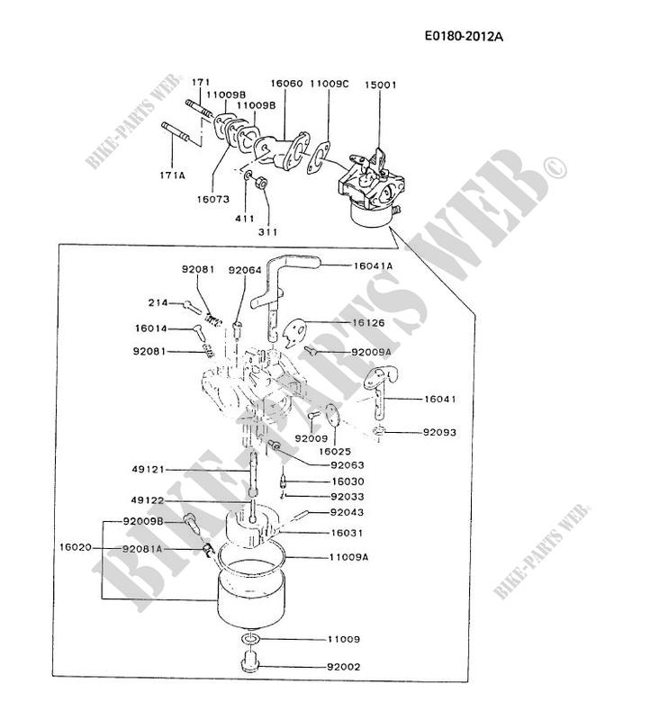 bike parts diagram 6 pin plug wiring diagrams of kawasaki carburetors 17 cs free for you carburetor fa210d cs17 fa motors petits moteurs rh kawa com adjustment