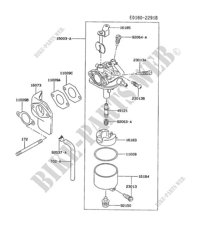 Kawasaki Fe290 Carburetor Diagram. Kawasaki. Wiring