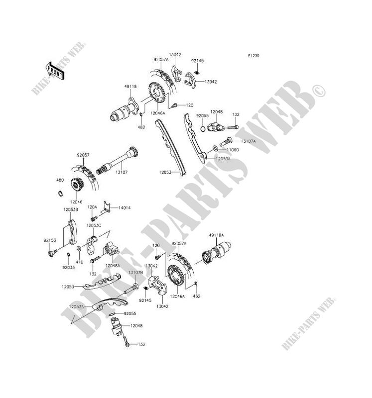 2016 kawasaki brute force 750 wiring diagram single phase generator camshaft tensioner kvf750hgf 4x4i eps quad
