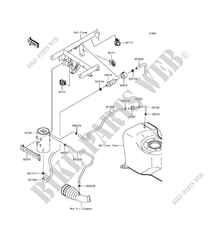 Kawasaki Mule Fuel System Diagram. Kawasaki. Wiring