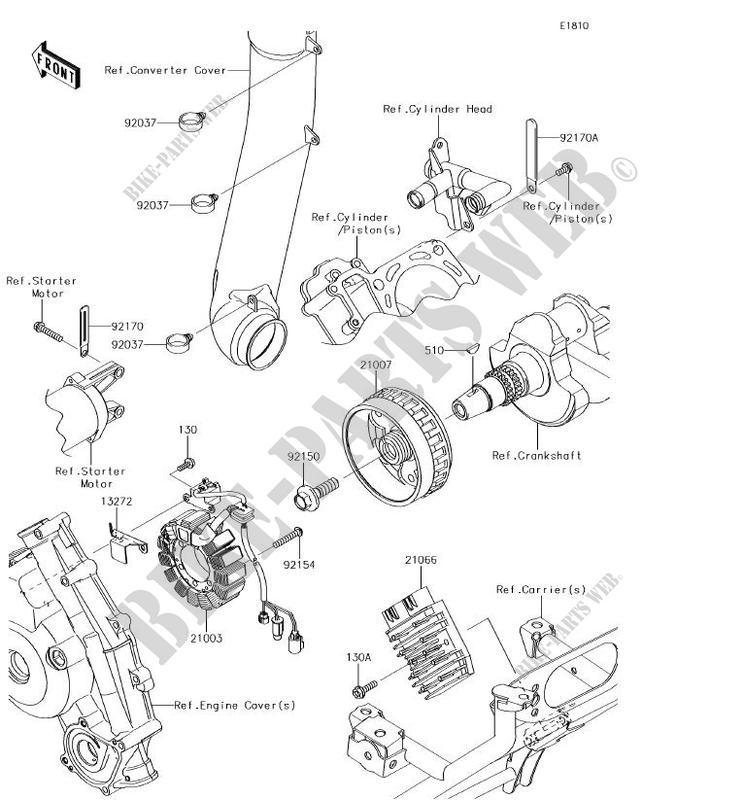 Kawasaki 2012-2018 Brute Force 750 4X4i Teryx 750 Fi 4X4