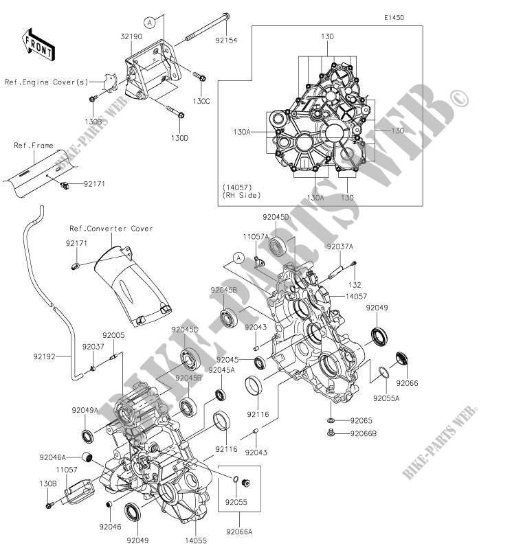 KRF1000ALF TERYX KRX 1000 2020 1000 SSV Kawasaki