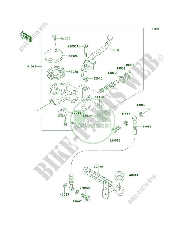 Front Master Cylinder for Kawasaki Vulcan 1500 Classic