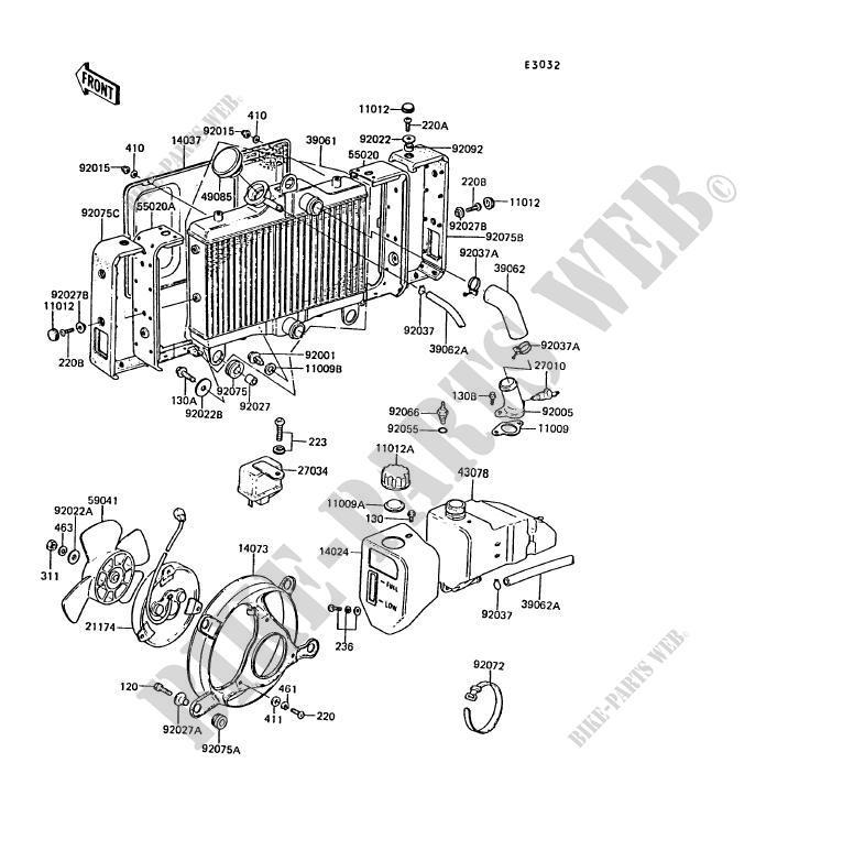 KUHLER ZG1300 A5 Z1300 1989 1300 MOTOS Kawasaki motorrad