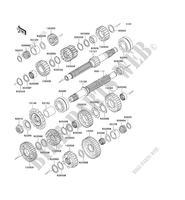 WERKZEUG ZR1000B7F Z1000 2007 1000 MOTOS Kawasaki motorrad