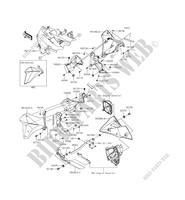 SITZ ZR800BDS Z800 ABS 2013 800 MOTOS Kawasaki motorrad