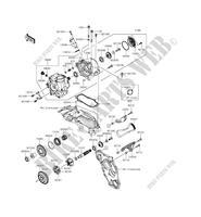 GABEL ZX1000NFF NINJA H2 2015 1000 MOTOS Kawasaki motorrad
