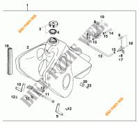 620 ENDURO LIMITED LC4 1997 620 KTM Ktm motorcycle # KTM