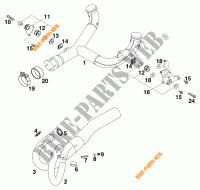 640 DUKE II LIME DUKE 2000 640 KTM Ktm motorcycle # KTM
