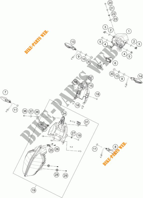 390 DUKE WHITE DUKE 2017 390 KTM Ktm motorcycle # KTM