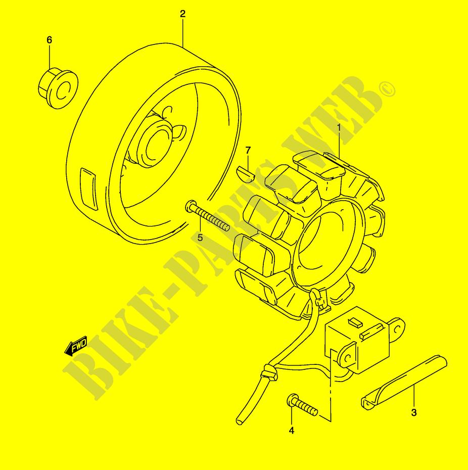 hight resolution of suzuki scooter 50 katana 2003 ay50k3 p19 electrical ignition