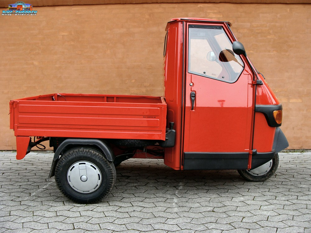 Piaggio Ape Pick Up Brugt Rd