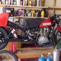 Record Setter - 175cc Land Speed Racer