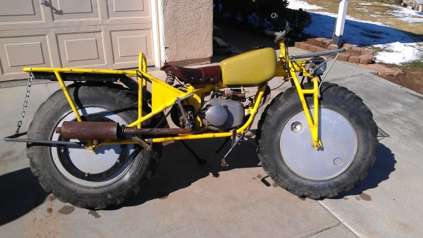 2WD – 1969 Rokon Trailbreaker   Bike-urious