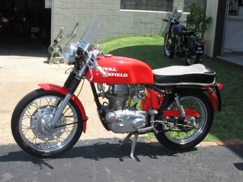 1965 Royal Enfield Continental GT - Left Side