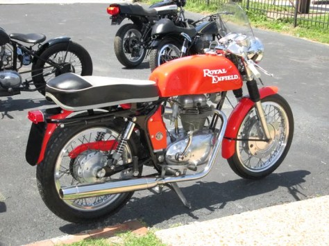 1965 Royal Enfield Continental GT - Right Rear
