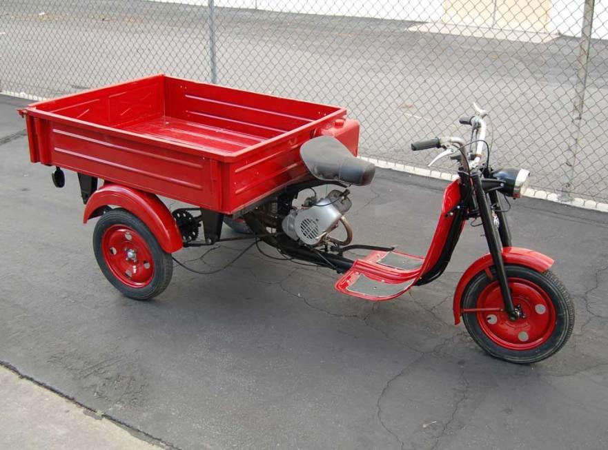 1966 Moto Guzzi Dingotre