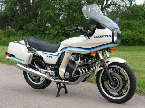 1982 Honda CBX - Right Side