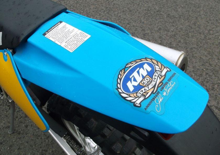 1997 KTM 200LE Jackpiner - Rear Fender