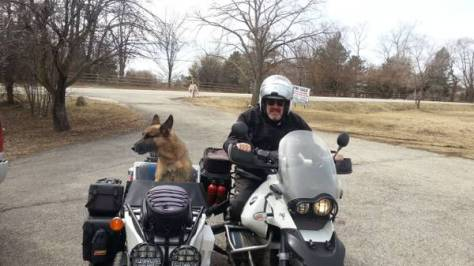 2006 R1150GS Adventure with DMC Sidecar - Front