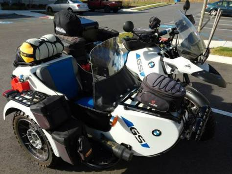 2006 R1150GS Adventure with DMC Sidecar - Right Side