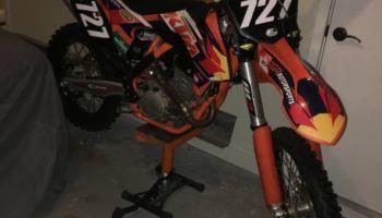 "One Off – 2015 KTM 550 SX ""Factory Edition"" – Bike-urious"