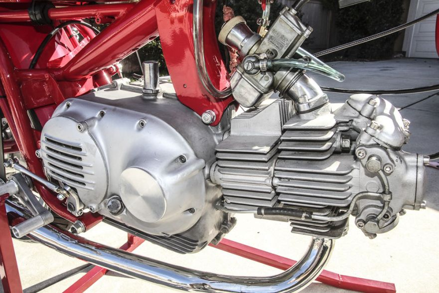 Aermacchi 350 Sprint Road Racer - Engine