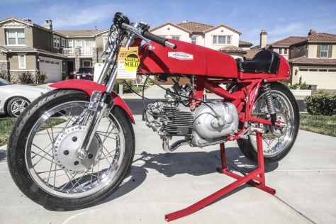 Aermacchi 350 Sprint Road Racer - Left Side