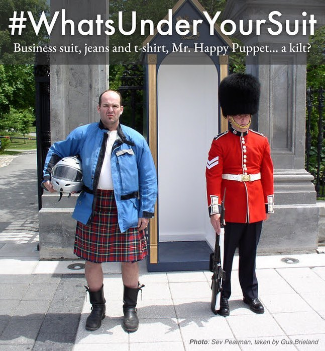 "Contest Intermission - Aerostich's ""What's Under Your Suit"""