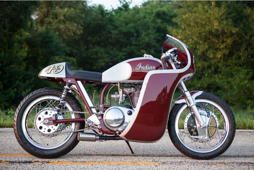 Analog Motorcycles Indian Scout - Right Side