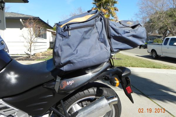 Soft Rear Luggage