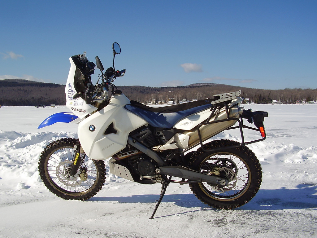 Fully Farkled 2007 Bmw G650x Xchallenge Bike Urious