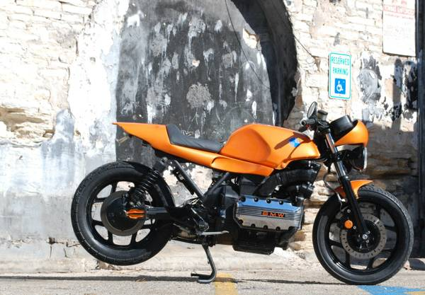 Street Fighter Flying Brick BMW K100RS